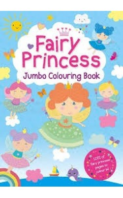 Fairy Princess Jumbo Colouring Book