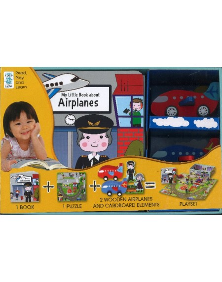 My Little Village: My Little Book About Airplanes