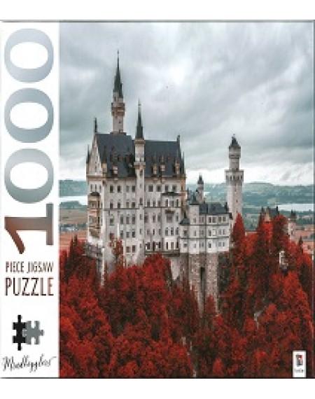 1000 Piece Jigsaw Puzzles: Neuschwanstein Castle, Germany