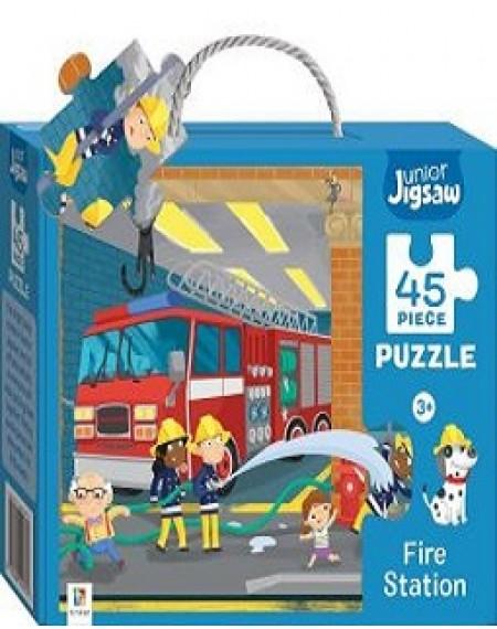 Junior Jigsaw: Fire Station