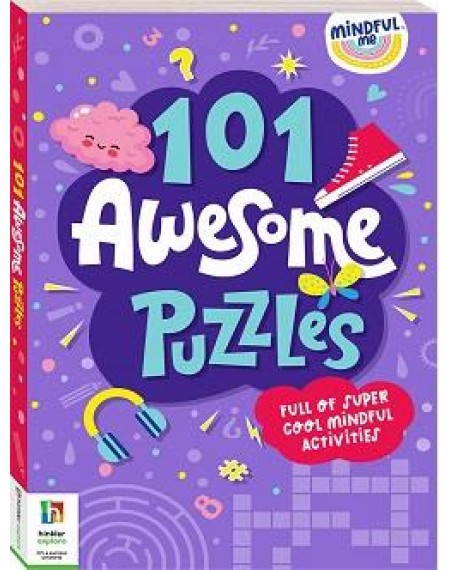 101 Awesome Puzzles : Mindfulness Activities