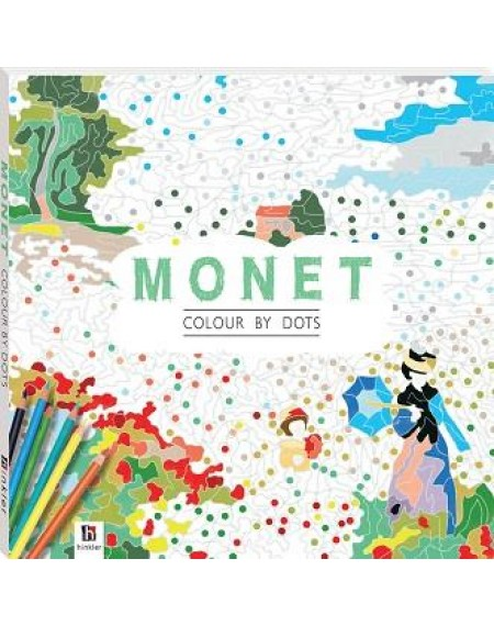 Colour By Dots : Monet