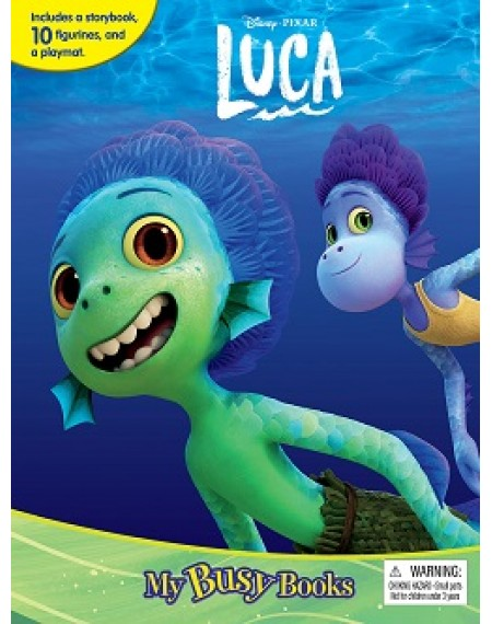 My Busy Book : Disney Luca